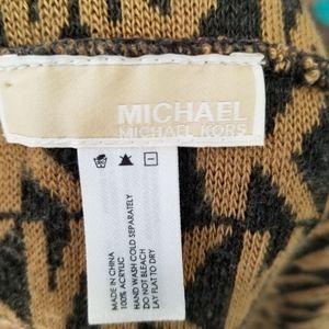 Michael Kors Accessories - michael Kors brown logo Infinity scarf
